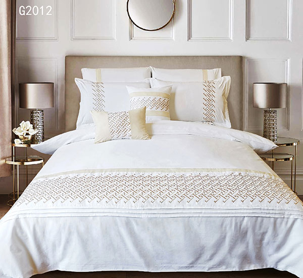 Collelọ oriri na nkwari akụ Duvet Cover Set Stitch Luxury Bedets Sets